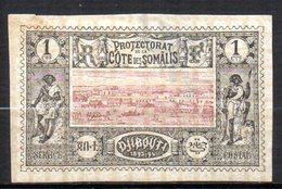 Col 14 /  Cote Des Somalis N° 6 Oblitéré Cote   3,75 € - Oblitérés