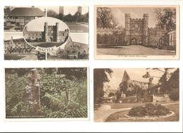FOUR BATTLE Nr HASTINGS ST.LEONARDS EAST SUSSEX POSTCARDS - England