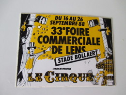 Autocollant Ancien Foire Lens  1988 7cm / 5 Cm - Stickers