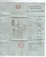 1806 - LETTRE Avec MP 87 GENES (DEPARTEMENT CONQUIS) - 1792-1815: Conquered Departments