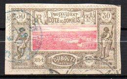 Col 14 /  Cote Des Somalis N° 13 Oblitéré Cote   13,00 € - Oblitérés