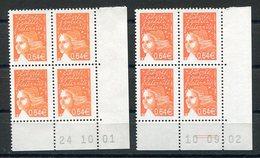 RC 12526 FRANCE MARIANNE DE LUQUET COINS DATÉS - DATES DIFFERENTES  NEUF ** TB - Francia