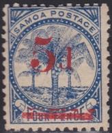 Samoa      .   SG  .   69    .   *     .    Mint-hinged     .   /    .   Ongebruikt - Samoa