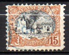 Col 14 /  Cote Des Somalis N° 58 Oblitéré Cote   13,00 € - Oblitérés