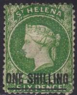 Sint Helena     .   SG  .   17  (2 Scans)    .   *     .    Mint-hinged     .   /    .   Ongebruikt - Sint-Helena