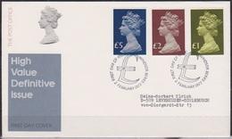 Grossbritannien 1977 MiNr.732 - 734 FDC Königin Elizabeth II.( D 3181 )günstige Versandkosten - FDC
