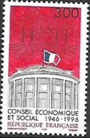 France - 1996 Yt 3034 Cinquantenaire Du Conseil Economique Et Social - France