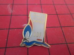 413g Pins Pin's  / Rare Et De Belle Qualité / THEME EDF GDF : NANTES SETUBAL 1991 - EDF GDF