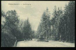 Kaiserslautern Waldeingang 1920 Hepp - Kaiserslautern