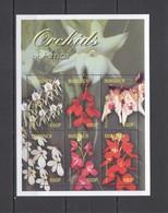 P383 BURUNDI FLORA FLOWERS ORCHIDS OF AFRICA 1KB MNH - Orchidées