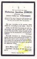 DP Hubertus J. Jonkers ° Peer 1849 † 1927 X Jeanne Cath. Vernimmen - Images Religieuses