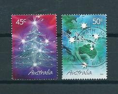 2005 Australia Complete Set Greetings Used/gebruikt/oblitere - 2000-09 Elizabeth II
