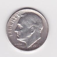 United States, 10c Roosevelt Dime, 1954-S, San Francisco - Émissions Fédérales
