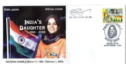 INDIA- 2019- NASA ASTRAONAUT- Late KALPANA CHAWLA- Special Cover - FDC & Commemorrativi