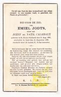 DP Emiel Jodts / Calebaut ° St.-Kruis (Sluis) NL Zeeland 1895 † Gent 1936 - Images Religieuses
