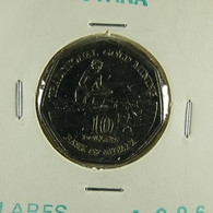 Guyana 10 Dollars 1996 Varnished - Guyana