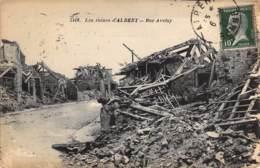 Les Ruines D'ALBERT - Rue Aveluy. - Albert