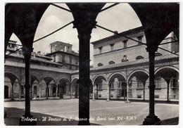 BOLOGNA - IL PORTICO DI S. MARIA DEI SERVI - 1959 - Bologna