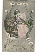 CPA - Carte Postale-Belgique-Le Secret De La Marguerite- La Petite Fleur M'a Dévoilé -1905  VM2502 - Mujeres