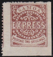 Samoa       .   SG  .    13  (2 Scans)        .   (*)    .    No Gum    .   /    .   Geen Gom - Samoa