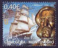 Montenegro 2006 Captain Ivo Visin, Sailing Ship Navigation Transportation Navy MNH - Montenegro