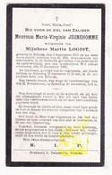 DP Maria V. Jeunehomme ° Eliksem Landen 1855 † 1922 X Martin Logist - Images Religieuses