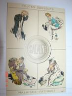 """C.P.A.- Publicité """"Kalmine"""" - Toutes Douleurs - Malaises - Fatigues - 1910 - SUP (BG14) - Advertising"""
