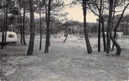85 - BRETIGNOLLES : Forêt Des Dunes ( Caravane Camping ) CPSM Dentelée Noir Et Blanc Format CPA  - Vendée - Bretignolles Sur Mer