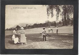 CPA Golf Sport Non Circulé Evian Haute Savoie - Golf