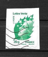 2011 - 608 Oblitéré - Marianne De Beaujard Beaujard - France