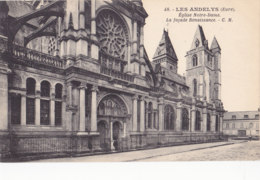 Les Andelys (27) - Eglise Notre Dame - La Façade Renaissance - Les Andelys