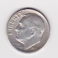 United States, 10c Roosevelt Dime, 1955-S, San Francisco - 1946-...: Roosevelt