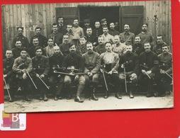 Carte Photo Pologne PILA Camp Prisonniers Français Guerre 14 18 SCHNEIDEMUHL  Groupe Musiciens Violon Clarinette Cahen - Pologne