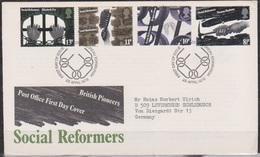 Grossbritannien 1976 MiNr.706 - 709 FDC Britische Sozialreformer ( D 2454 )günstige Versandkosten - FDC