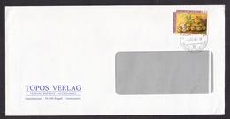 Liechtenstein: Cover, 1986, 1 Stamp, Food, Potatoes, Garlic, Vegetables (minor Discolouring At Back) - Liechtenstein