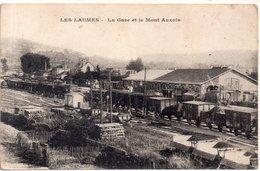 """LES LAUMES   """" La Gare Et Le Mont Auxois"""" - Autres Communes"""