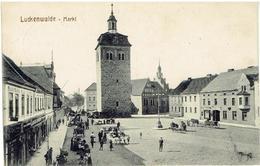 PLZ 14943 - LUCKENWALDE - Brandenburg - Markt - Feldpost 18-5-1918 - Luckenwalde