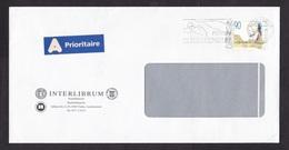 Liechtenstein: Priority Cover, 1991, 1 Stamp, Mozart, Music Composer, A-label (traces Of Use) - Liechtenstein