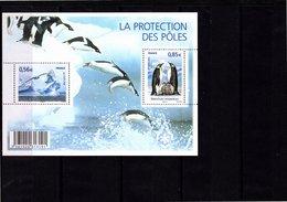 Blocs & Feuillets N° F4350 **--Protection Des Zones Polaires Et Des Glaciers--2009-- Timbres N° 4350 & 4351 - Neufs