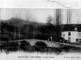 """LES LAUMES   """" Le Pont Romain' - Autres Communes"""