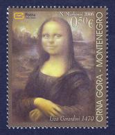 Montenegro 2006 Mona Lisa As A Child, Liza Gerardini, Joy Of Europe, Painitngs, Art, MNH - Arte