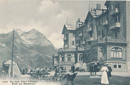 VOR DEM HOTEL RIFFELALP - BLICK AUF METTELHORN - VS Valais