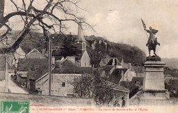 """ALISE SAINTE RAINE """"Statue Jeanne D'Arc"""" - Autres Communes"""