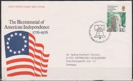 Grossbritannien 1976 MiNr.710 FDC 200 Jahre Unabhängigkeit Der USA ( D 2426 )günstige Versandkosten - FDC