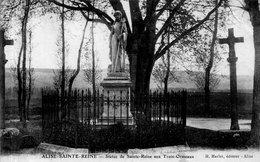 """ALISE SAINTE REINE """"Statue De Sainte Reine Aux Trois Ormeaux"""" - Autres Communes"""