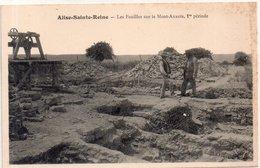 """ALISE SAINTE REINE """" Les Fouilles Sur Le Mont Auxois """" - Autres Communes"""