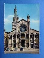 Cartolina Formato Grande Viaggiata Modena Duomo E Ghirlandina Auto D'epoca Maggiolino - Modena
