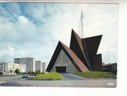SP- 54 - LAXOU - Eglise Saint PAUL - Vue Exterieure - Timbre - Cachet - 1969 - France