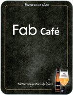 Belgium. Bruxelles. Bienvenue Chez Fab Café. Omer, Notre Suggestion De Bière. - Sous-bocks