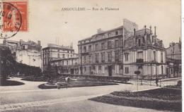 16. ANGOULEME.  CPA. RUE DE PLAISANCE. ANNEE 1912 + TEXTE - Angouleme